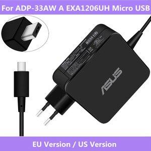 Image 1 - Оригинальное зарядное устройство для ASUS X205T X205TA, 19 в, 1,75 А, 33 Вт, для ноутбука EXA1206UH, с Micro USB входом