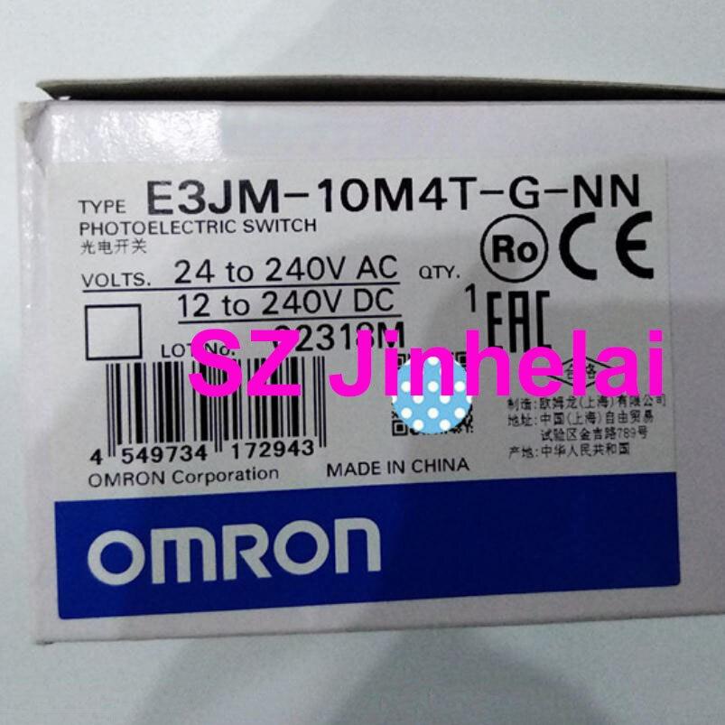 OMRON E3JM-10M4T-G-NN Authentic original Photoelectric switch 24-240VAC/DC (substitution E3JM-10M4T-G-N)