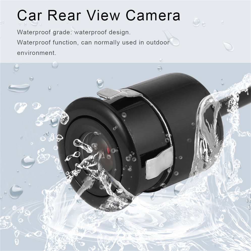 Universal 12V Waterproof 170 Lens Angle Night Vision Car Rear View Bakeup Camera HD CCD Color Parking Assistance With Hole Saw