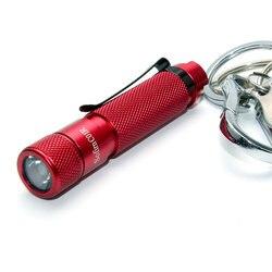 Sofirn Neue C01R XPE2 660nm Tiefrote Portable Aufladbare Taschenlampe Mit Schlüssel Ring Mini AAA Taschenlampe