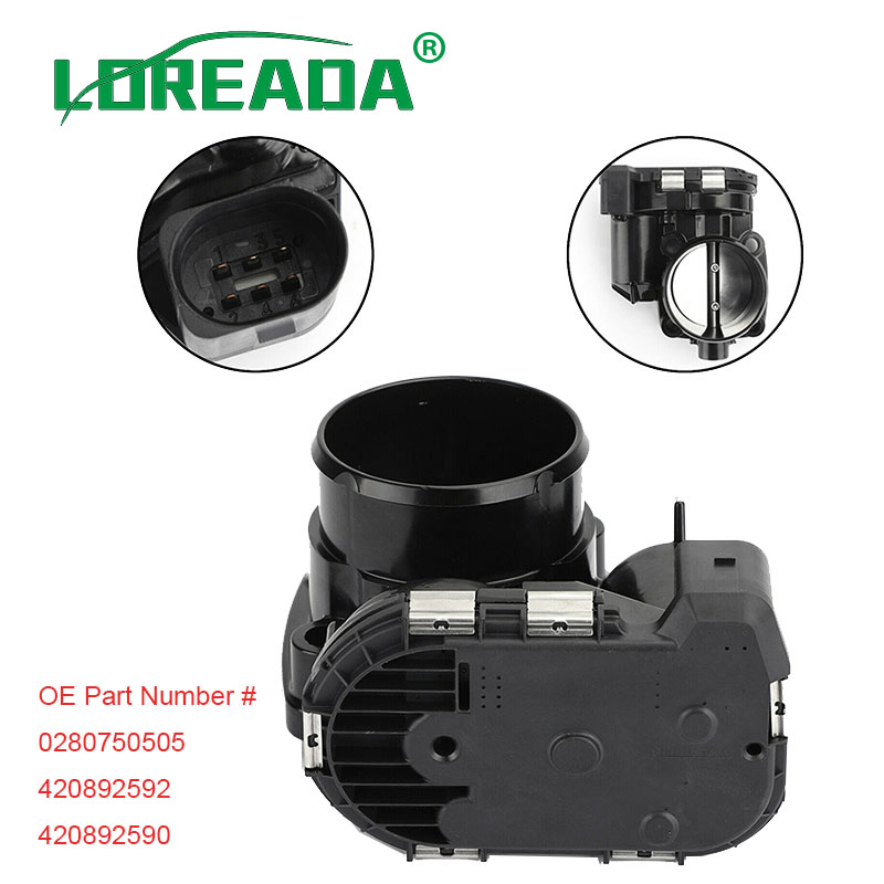 Motor Boat Throttle Body Assembly 0280750505 420892590 420892592 420892591 For SeaDoo RXP RXT GTX GTS GTR