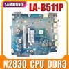Carte mère d'ordinateur portable pour ACER Aspire ES1-511 Celeron N2830 carte mère NBMML1100 Z5W1M LA-B511P SR1W4 DDR3