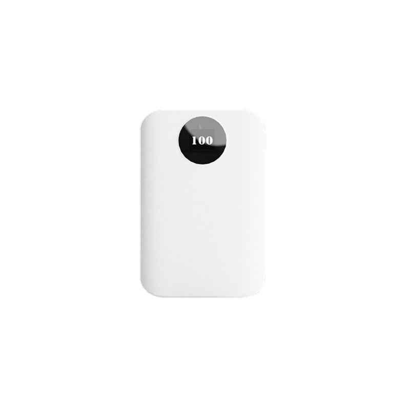 (No (Senza Batteria) kit FAI DA TE 3x18650 Batteria Scatola del Caricatore Del Supporto Accumulatori e caricabatterie di riserva Borsette Caso Con Capacità di Visualizzazione per Samsung Xiaomi