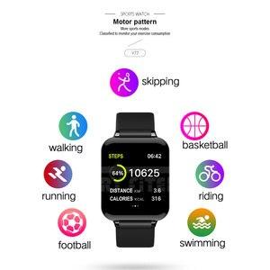 Image 3 - VERYFiTEK B57 Smart Uhr Blutdruck Sauerstoff Fitness Armband Uhr Herz Rate Monitor IP67 Männer Frauen Sport Smartwatch B57