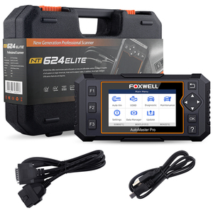 Image 5 - Foxwell NT624 Elite OBD2 Scanner Full System OBD2 Automotive Scanner EPB Oil Reset Diagnostic Tool Car Accessories Free Update