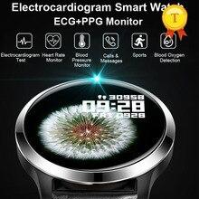 La migliore vendita ecg ppg smartwatch Uomini donne IP68 Wristband Impermeabile relogio frequenza cardiaca Monitoraggio del Sonno sport Intelligente Orologio