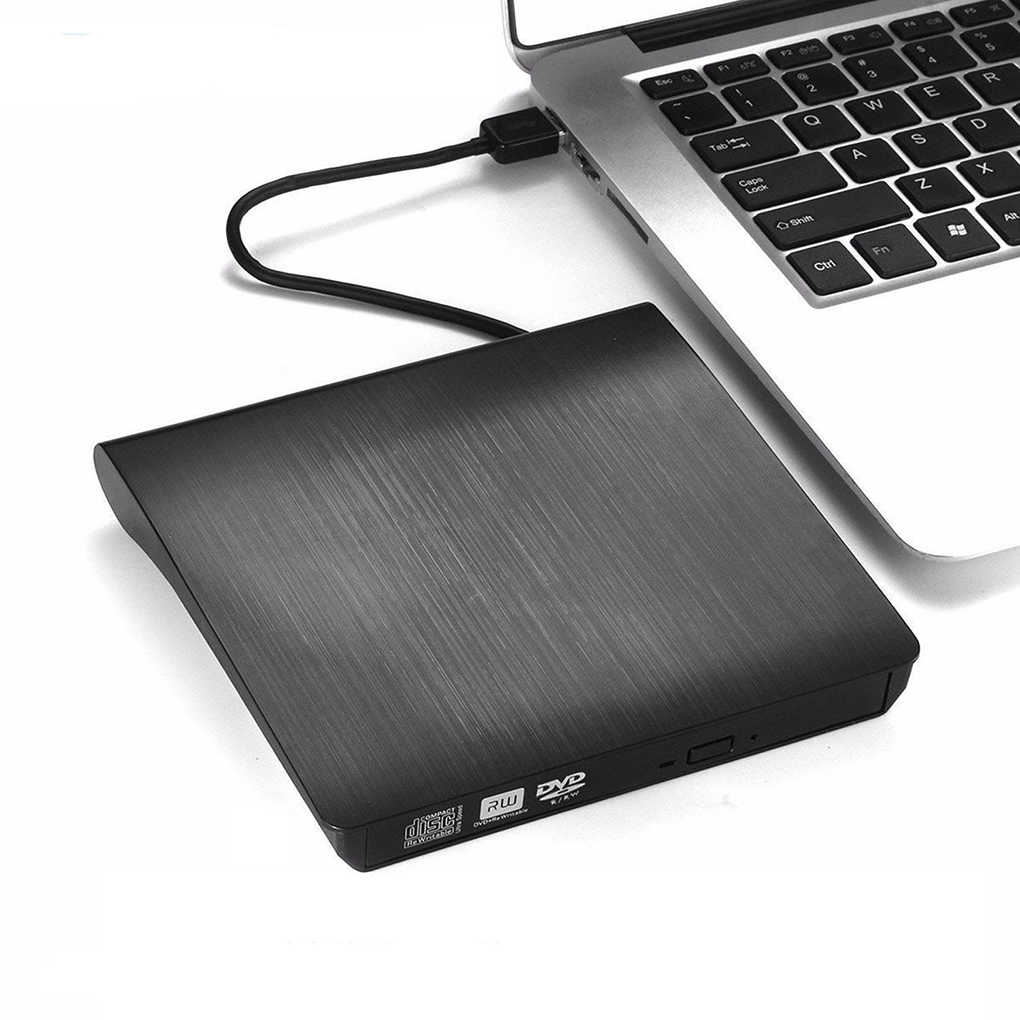 USB 3.0 DVD-ROM Optical Drive Eksternal Slim CD ROM Disk Reader Desktop PC Laptop Tablet Promosi Pemutar DVD