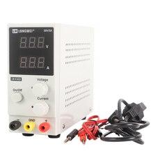 Mini DC güç kaynağı voltaj regülatörleri LW K305D 30V 5A anahtarlama laboratuvar 110V 220V dijital ekran ayarlanabilir güç tedarik