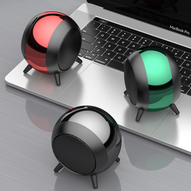 2021 New Subwoofer Wireless Speaker Outdoor Bluetooth 3D Stereo Bass Surround HiFi Speakers 3.5mm AUX TF Card Play Hand-free 1