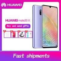 Global Rom HUAWEI Mate 20 X Smartphone 7.2 inch Full Screen 2244x1080 Kirin 980 octa core 5000 mAh 4*Camera Quick Charger