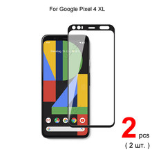 2pcs For Google Pixel 4 XL / XL4 / 4XL Full Cover Tempered Glass Screen Protector Protective Glass Guard