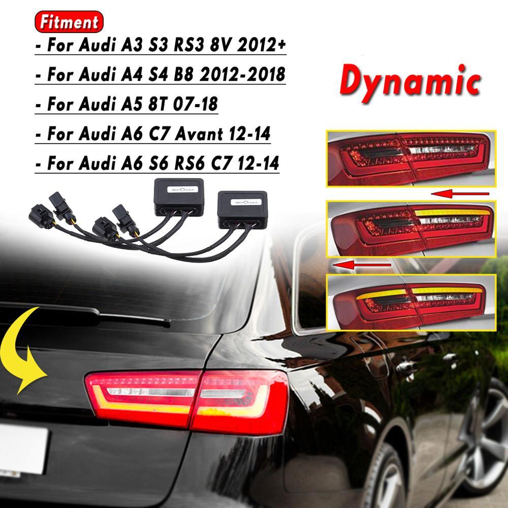Inner LED Tail Light Rear Lamp RIGHT Fits AUDI A6 C7 Wagon Avant Facelift 2014