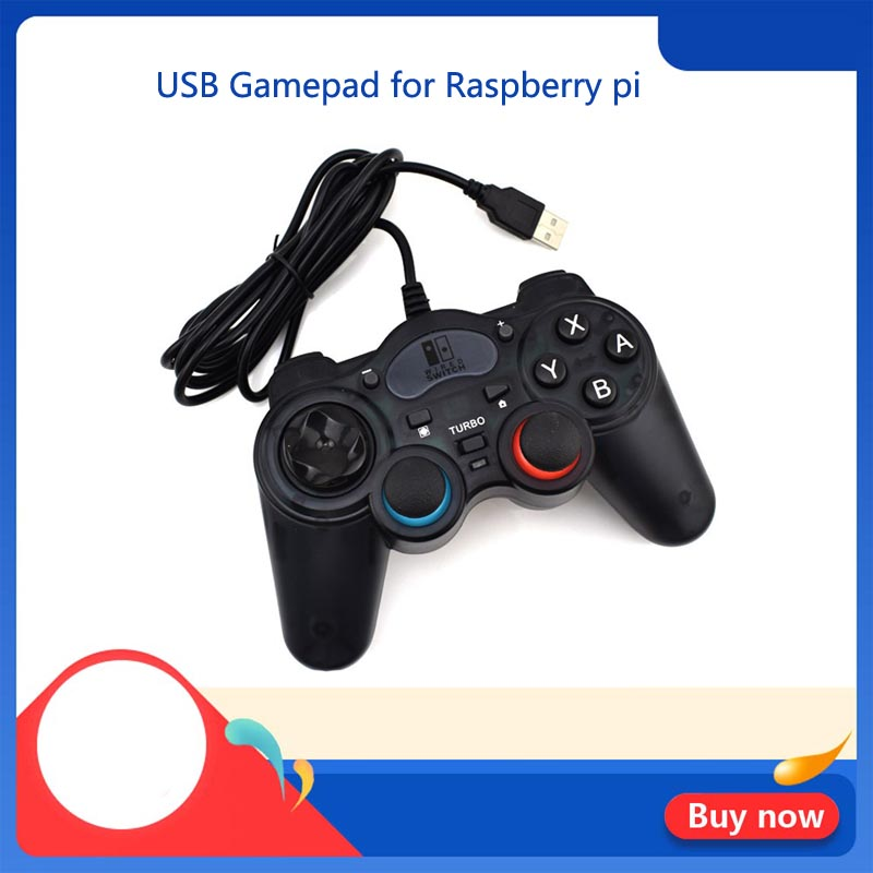 For Raspberry Pi Gamepad USB Gamepad For Rasbperry Pi 3B/3B+/4B