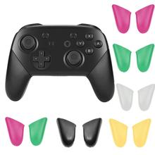 Bevigac 1 Pair Non Slip DIY Replacement Grip Handle Cover Case Shell for Nitendo Nintend Switch NS Pro Controller