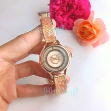 Fashion Rose Gold Silver Stainless Women Watch Quartz Wrist Watches