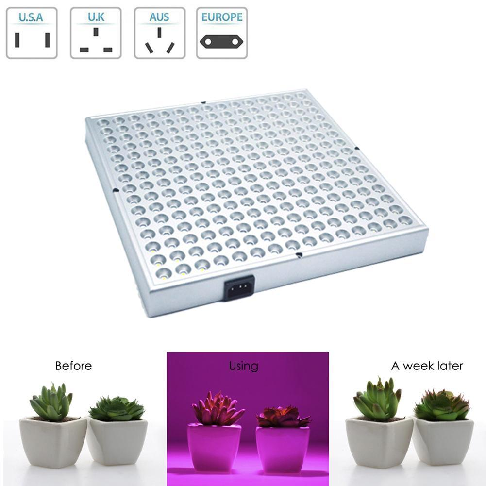 600W 255LED LED Square Grow Light Panel Hydroponic Plant Grow Full Spectrum LED Plant Lamp Plant Growth Lamp Fill-in Light(China)
