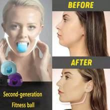 20 50 50 bls rosto fitness bola mandíbula exercício facial toner exercitador jaw trainer bolas de fitness