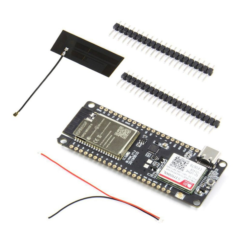 TTGO T-Call V1.3 ESP32 Wireless Module,GPRS Antenna SIM Card 2.4GHz SIM800L Development Board For Cellphone