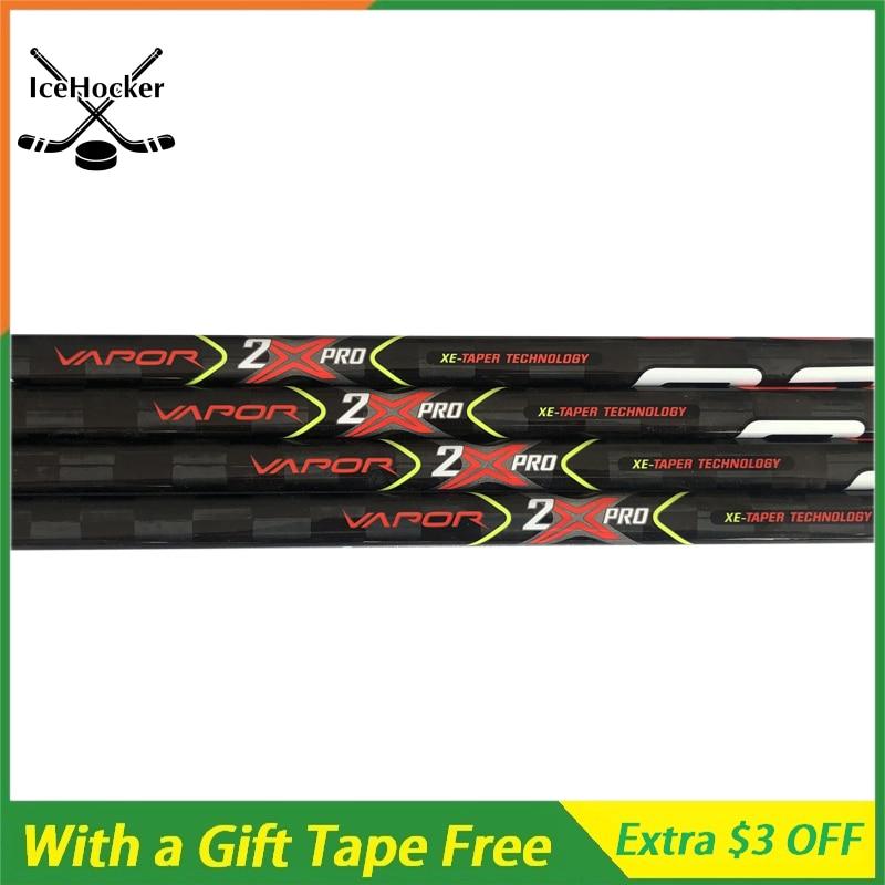 NEW VAPOR Series Ice Hockey Sticks 2X Pro 420g Carbn Fiber Ice Hockey Sticks With A Free Tape Free Shipping