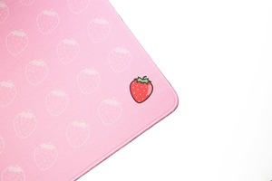 Image 4 - Mechanical keyboard Mousepad harvest season Fruit 900 400 4mm Stitched Edges /Rubber High quality soft  Jacquard fabric material