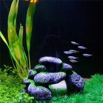 Rock Cave Aquarium Landscape Fish Tank Stones 1