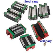 1 шт. HGH20CA/HGW20CC линейная направляющая блок спичка использование hiwin HGR20 ширина 20 мм направляющая для ЧПУ
