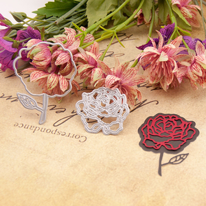 Metal Die Cut Rose Steel Scrapbook Cutting Dies New 2020 for Card Making Home Party Decoration