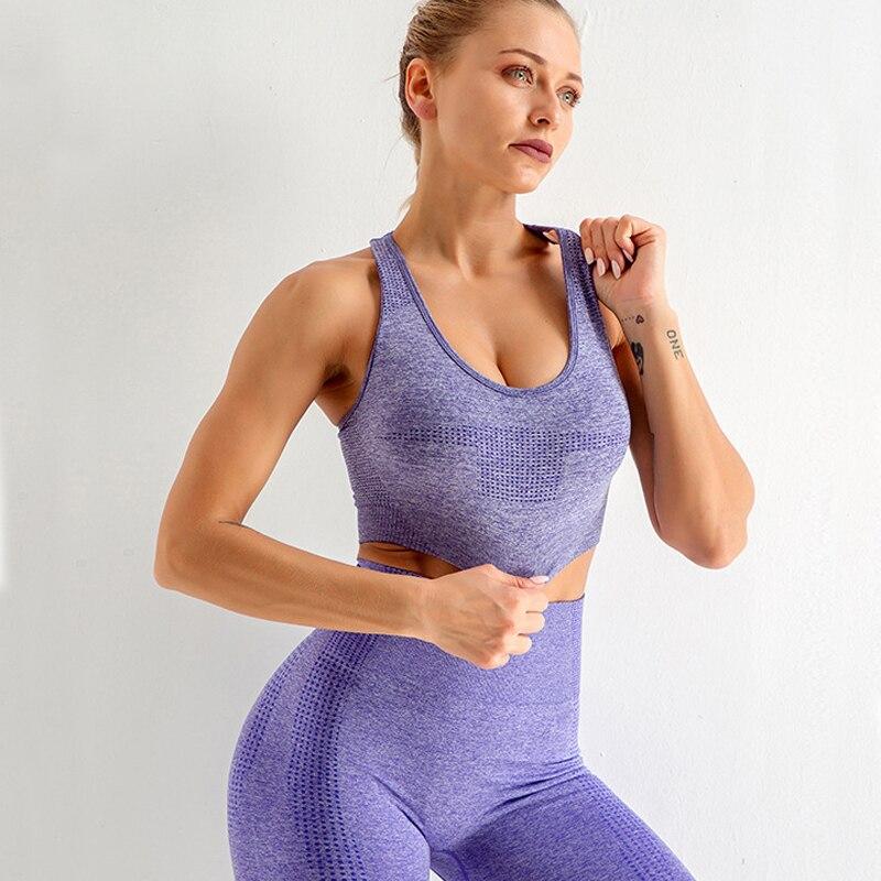 3 шт спортивная одежда для фитнеса женский спортивный комплект