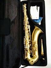 2021 fotos reais marca tenor saxofone instrumentos musicais promoções saxofone profissional sax bb desenho e caso