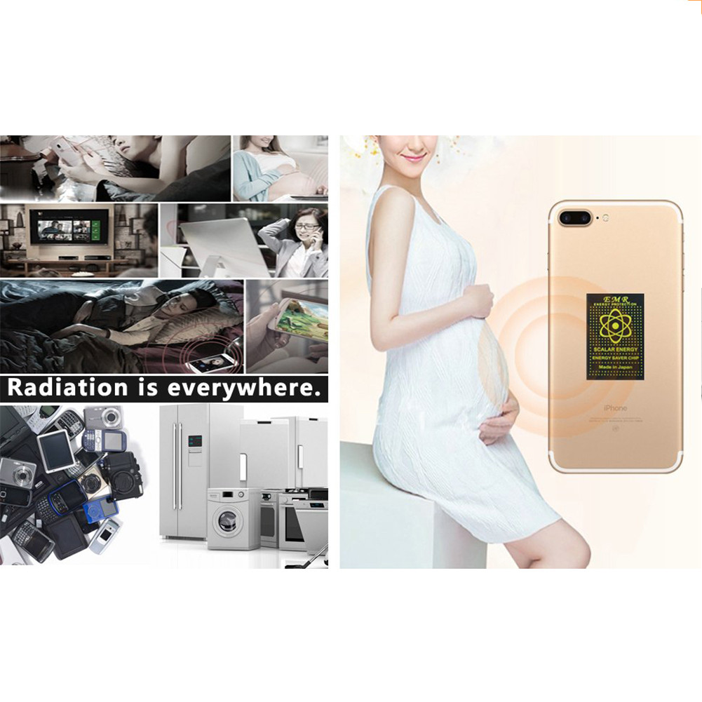 10 5G EMF Radiation Protection Mobile Phone Stickers