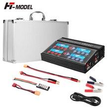 Ni MH/Ni CD/LiPo/LiFe/LiHv/pb/Smart 배터리 용 HTRC 4B6AC Quattro RC 밸런스 충전기 방전기 내장 AC