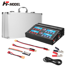 Original HTRC 4B6AC Quattro RC Balance Charger Discharger Built In AC for Ni MH/Ni CD/LiPo/LiFe/LiHv/pb/Smart Battery