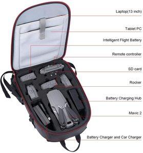 Image 2 - Smatree Backpack for DJI Mavic 2 Pro/Zoom for DJI OSMO Pocket/OSMO Action/Gopro 7/6/5/4/3/3+