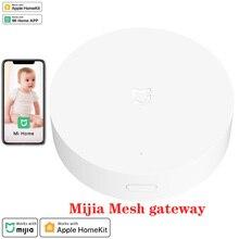 Xiaomi Mijia רב מצב חכם בית Gateway 3 Zigbee Wifi Bluetooth רשת רכזת לעבוד עם Mi בית App ו אפל Homekit אינטליגנטי