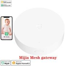 Xiaomi Mijia Multi mode Smart Home Gateway 3 Zigbee Wifi Bluetooth Mesh Hub Work With Mi Home App And Apple Homekit Intelligent