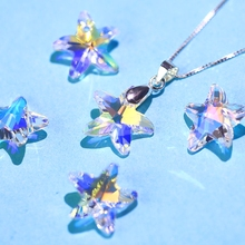 14mm 28pcs/pack crystal beads charms starfish AB glass rhinestone gem for Jewelry making Earring DIY Best quality