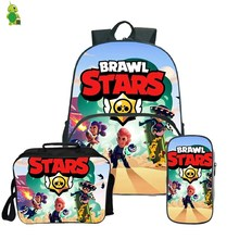 16-inch school bag, Backpack for children and teenagers, Lunch backpack, Childrens Travel backpack with pencil case
