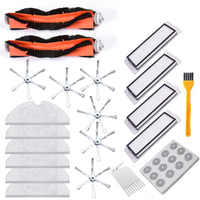 32 peças roborock aspirador de pó substituição para robô roborock s50 s51 aspirador acessório kit