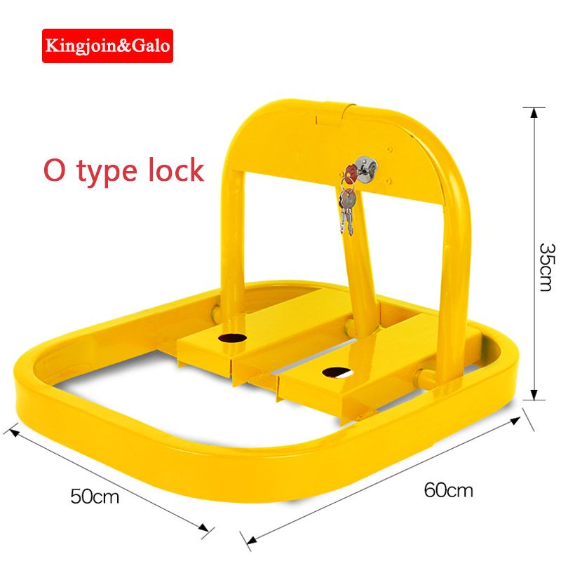 Special Price Sale O-Type Parking Lock With Best Quality O Shape Manual Parking Lock For Parking Private Parking Space Barrier
