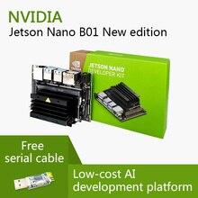 Nvidia Jetson Nano Developer Kit A02 e B01 linux Schede Di Valutazione E Microcontrollori AI Bordo di SVILUPPO Della PiattaformaScheda demo