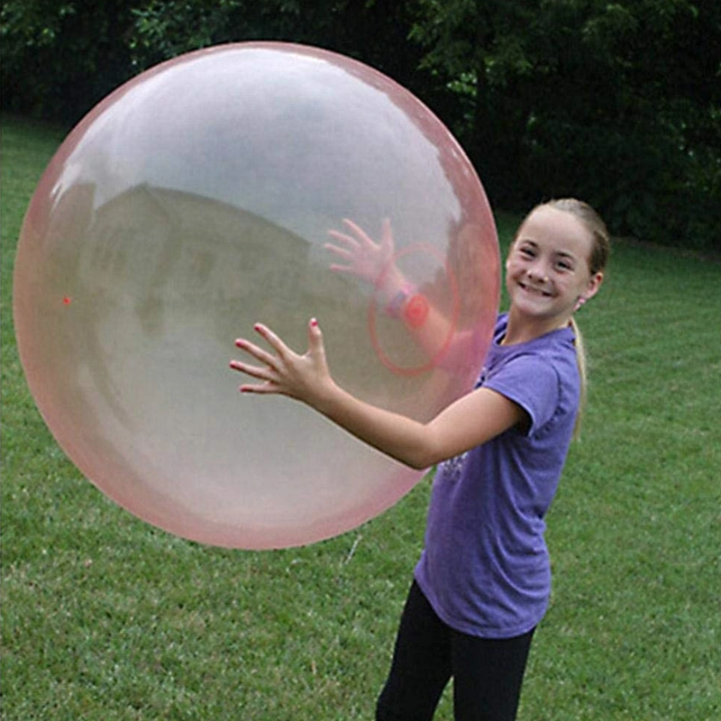 Bubble Ball XL Outdoor Soft Squishies Air Water Filled Bubble Ball Inflatable Magic Bubble Giant