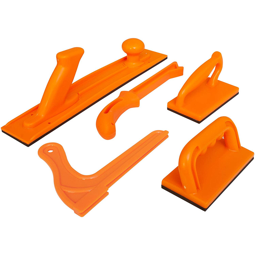 Woodworking Tools Push Block and Stick 5 Piece Sets Of Plastic Table Saw Pusher Push Block And Stick Package