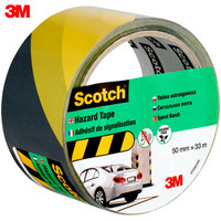 Warning Tape 3M Scotch 4705BY Scotch 4705BY Security Protection Workplace Safety Supplies Scotch 4705 signal tape, black and yellow