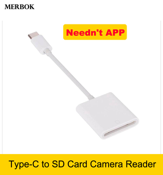 SLR Camera kit Type-C to SD Card Reader Compatible USB-C OTG Data Cable Adapter For MacBook Pro Xiaomi 9 8 7 6 Huawei P30 Pro