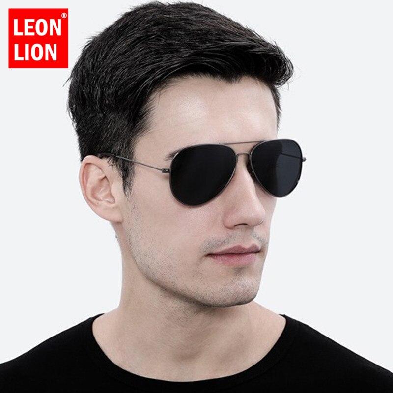 LeonLion Retro Sunglasses Men 2019 Sun Glasses For Men/Women Luxury Vintage Sunglasses Men Mirror Fashion Oculos De Sol Gafas