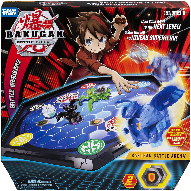 TAKARA TOMY Bakugan Battle Arena Game Board Collectibles Exclusive Bakugan BakuCores Ability Card Kid Toys