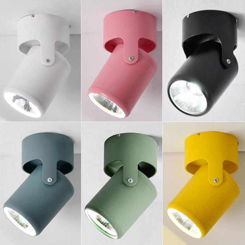 Скандинавские потолочные светильники Современная потолочная лампа для гостиной точечные осветительные приборы кухонные подвесные светил...