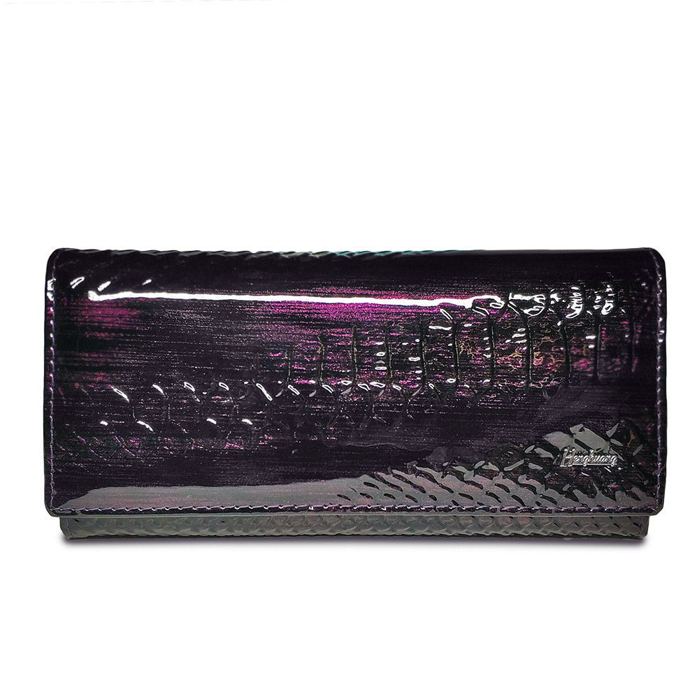 Women's Wallet Genuine Leather  Patent Alligator Purses Female Design Clutch Bag Coin Card Holder Wallets Crocodile Purse