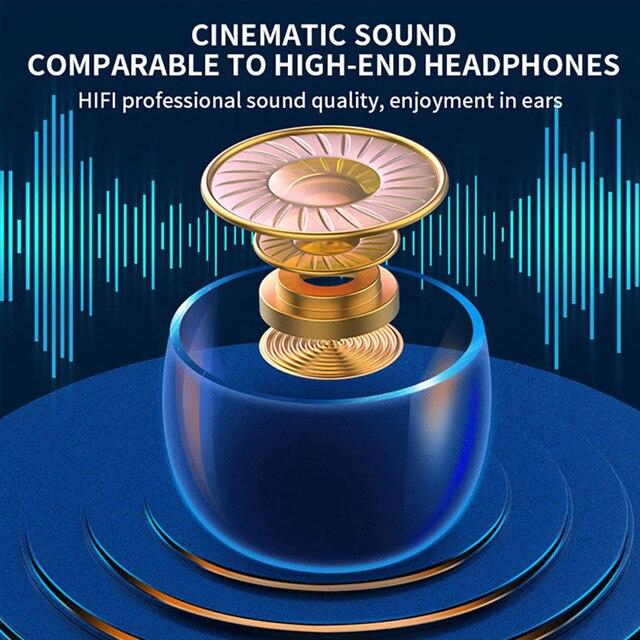 TWS Wireless Earphones For Bluetooth Earphone 9D Bass Stereo Waterproof Earbuds Handsfree Headset With Microphone Charging Case 6