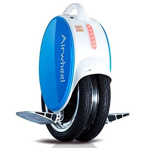 Volante q5 auto balanceamento elétrico monociclo com luzes led e almofada de perna de silicone reforçada
